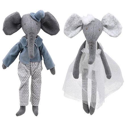 זוג בובות פיל ופילפילונת