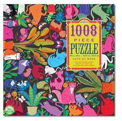 פאזל חתולים 1008 חלקים