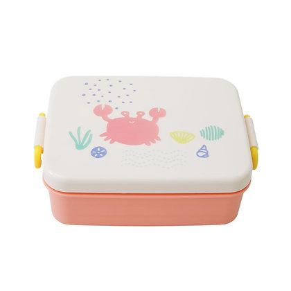 לאנץ' בוקס עם חלוקה| ורוד אוקינוס| קופסת אוכל לילדים