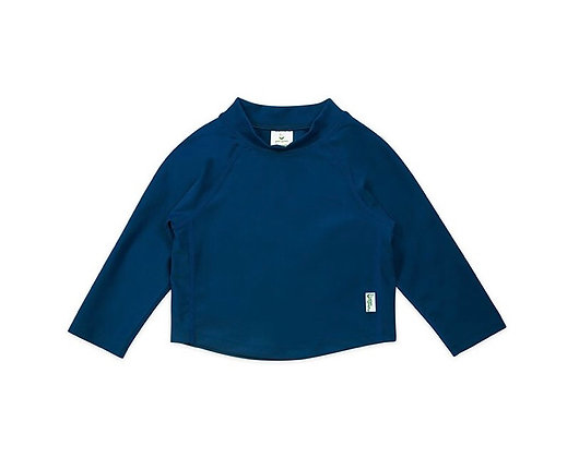 בגד ים חולצה ארוכה כחולה