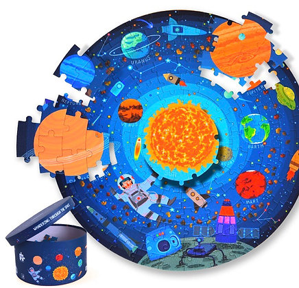 פאזל חלל עגול 150 חלקים