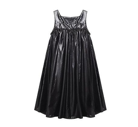שמלה גופיה שחורה
