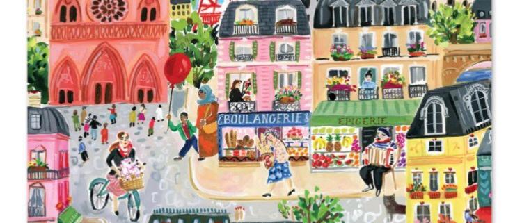 פאזל 1000 חלקים רחובות פריז