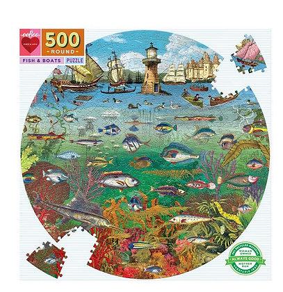 פאזל 500 חלקים דגים