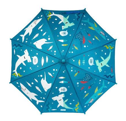 מטרייה מחליפה גוונים דגים
