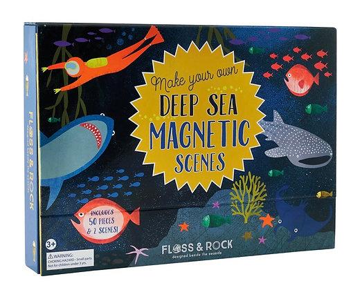 ערכת משחק מגנטי מעמקי ים