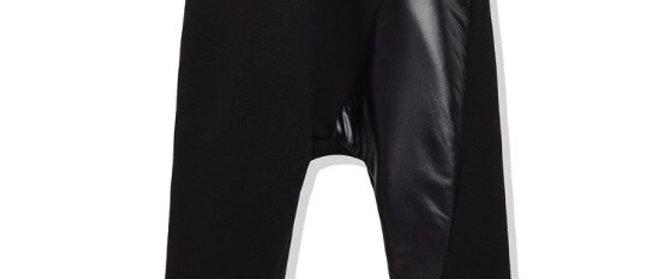 מכנס פוטר שחור