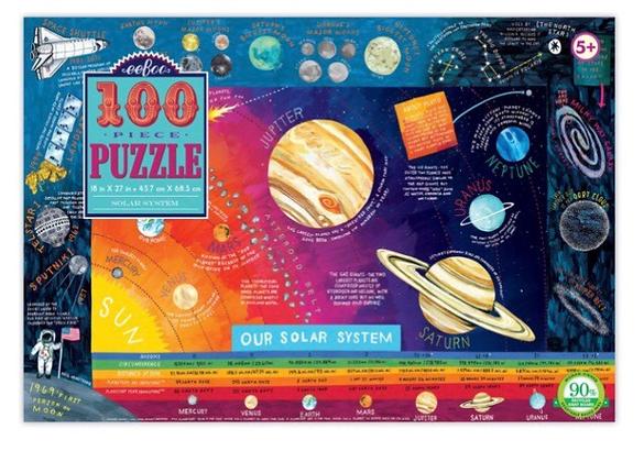 פאזל חלל 100 חלקים