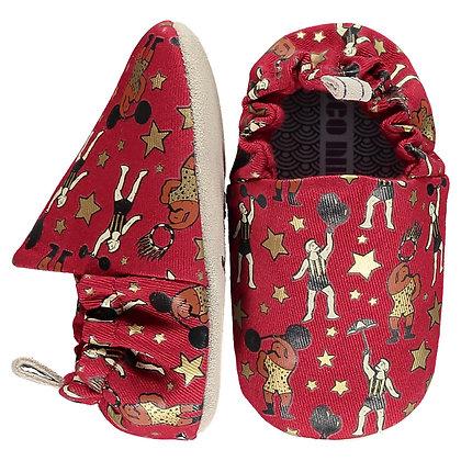נעלי טרום הליכה אדומות קרקס
