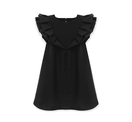 שמלת פרפר שחורה