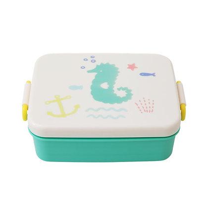 לאנץ' בוקס עם חלוקה|ירוק אוקינוס | קופסת אוכל לילדים