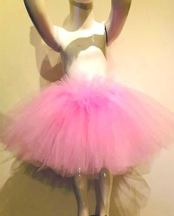 חצאית טול מפוארת ורודה