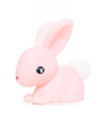 מנורת ארנבון ורדרד + פונפון