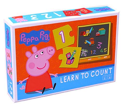 פאזל פפה פיג 20 חלקים לומדים מספרים