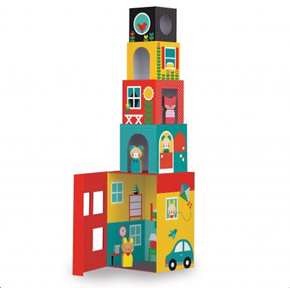 מגדל קוביות/בית בובות
