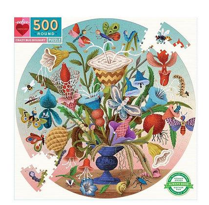 פאזל 500 חלקים אגרטל פרחים