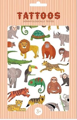קעקועים חיות ג׳ונגל