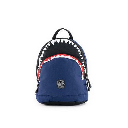 תיק גן כריש כחול