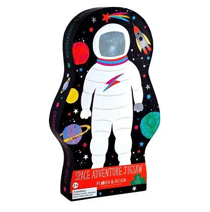 פאזל אנשים בחלל 20 חלקים