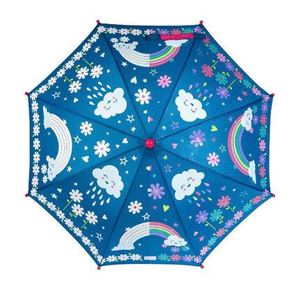 מטריה מחליפה גוונים קשת בענן