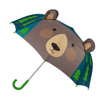 מטריה תלת ממד דוב