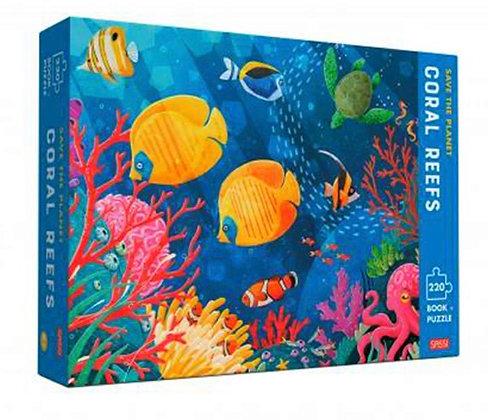פאזל 220 חלקים אלמוגים