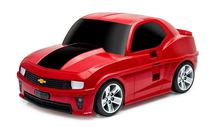 טרולי מכונית אדומה