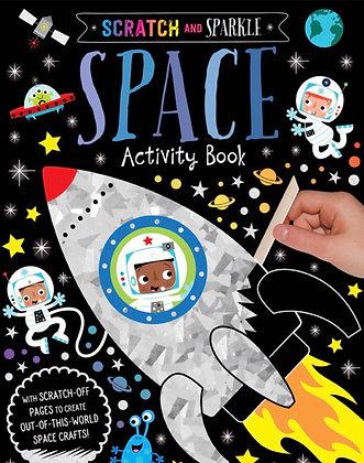 חוברת פעילות יצירה וגירוד בחלל