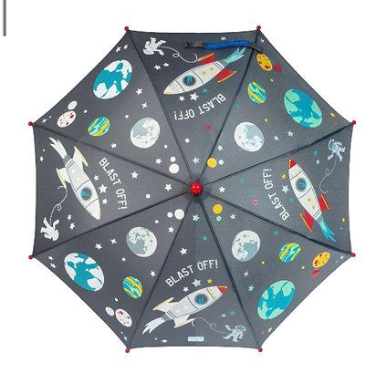 מטרייה מחליפה גוונים טיל בחלל