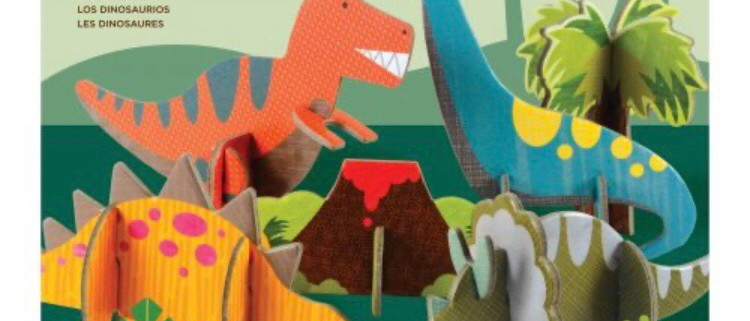 משחק הרכבה דינוזאורים