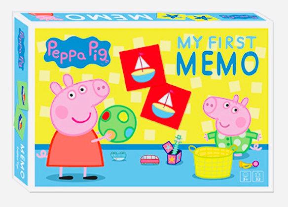 משחק זכרון פפה למידת שמות עצם