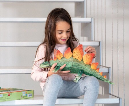 הרכבה דינוזאור סטגוזאורוס תלת מימד
