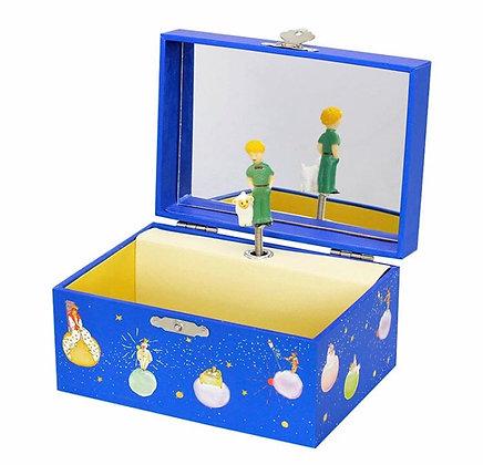 קופסת תכשיטים כחולה הנסיך הקטן