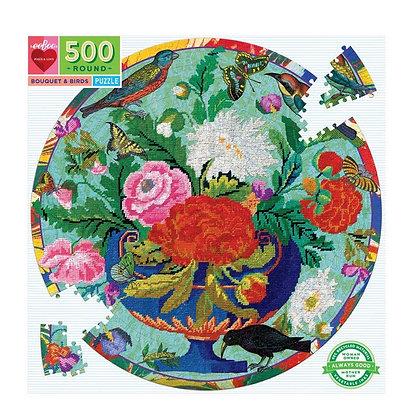 פאזל 500 חלקים פרחים