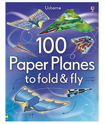 ערכת הכנת  100 קיפולי נייר מטוסים