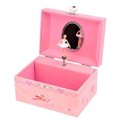 קופסת תכשיטים בלרינה נוסטלגית