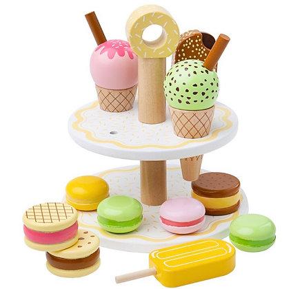 ערכת גלידה וקינוחים