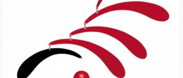 מובייל טיפות מעץ אדום שחור