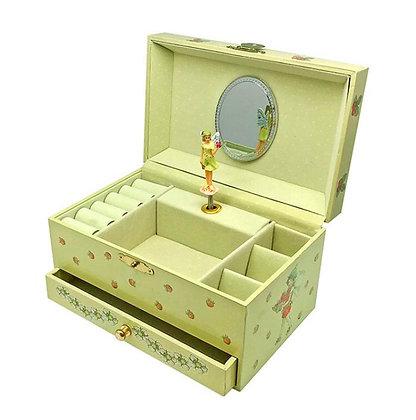 קופסת תכשיטים מהודרת ילדה תות