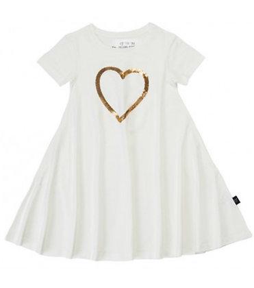 שמלת חג לב מסתובבת