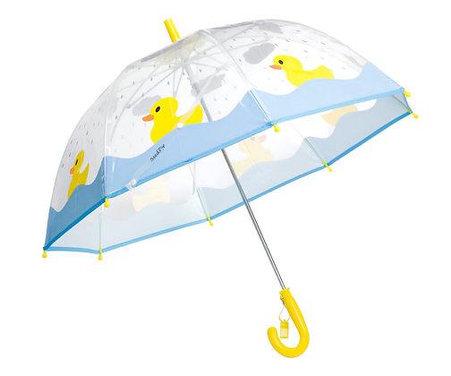 מטריה ברווזים שקופה גיל 5+