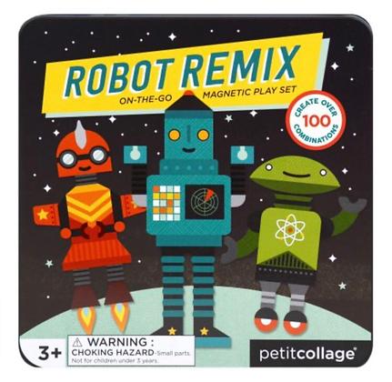 משחק מגנטי רובוטים