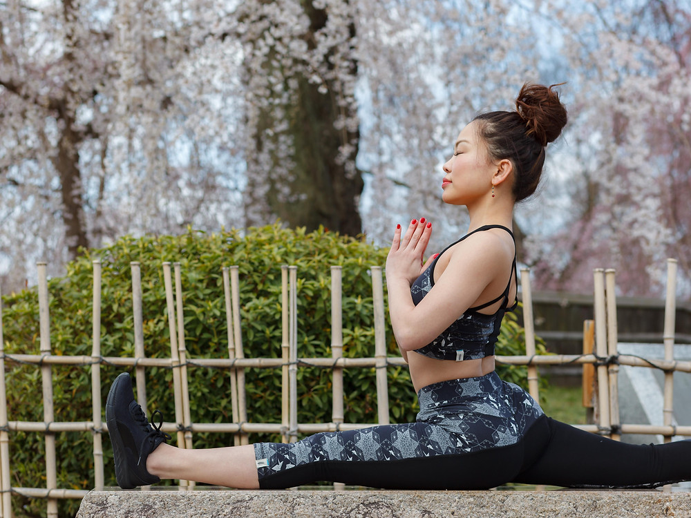 Kyoto Eco Yoga Capris by Milochie
