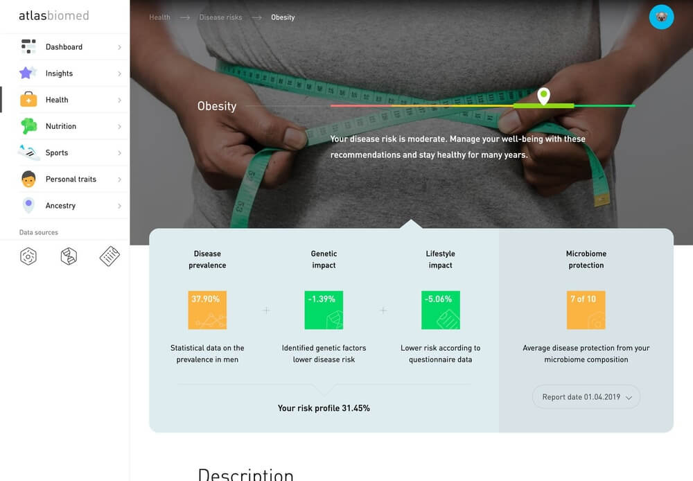 Microbiome Test Kit by ATLAS