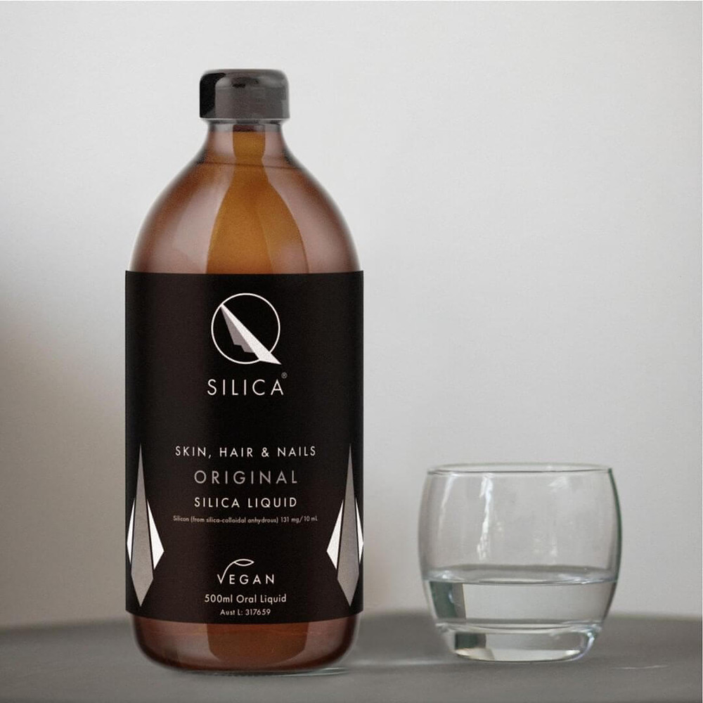 Qsilica Skin, Hair & Nails Original Silica Liquid Supplement 500ml