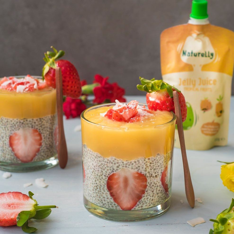 Tropical Fruits Naturelly Jelly Juice