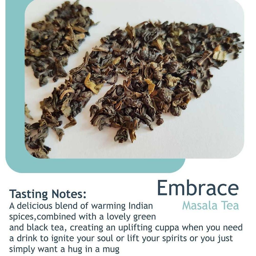 Embrace Masala Tea by Noble leaf at shop.lifebyequipe.com
