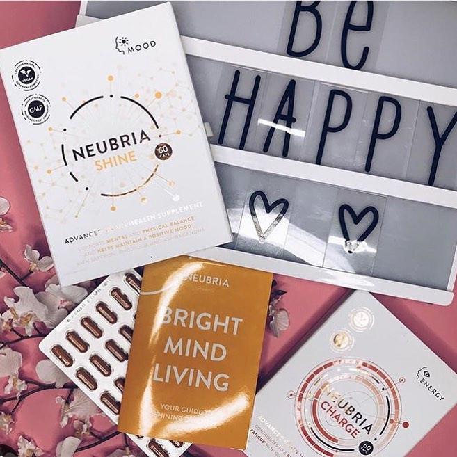 Neubria Brain Health Supplements For Memory, Performance, Motivation, Mood & Sleep