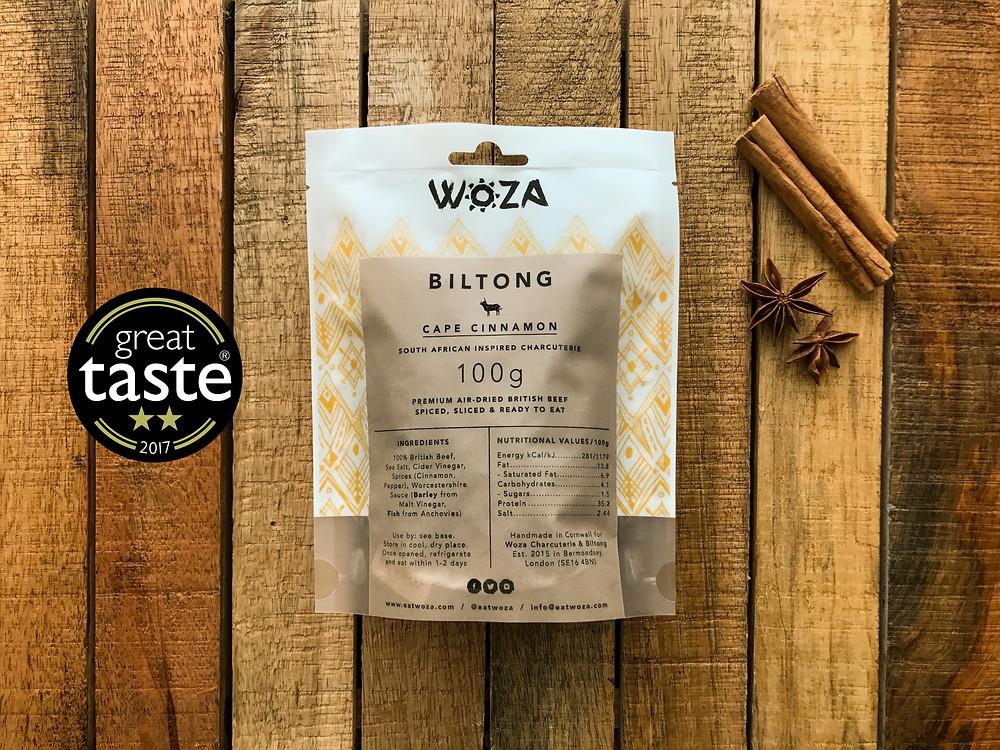 Woza Cape Cinnamon Biltong