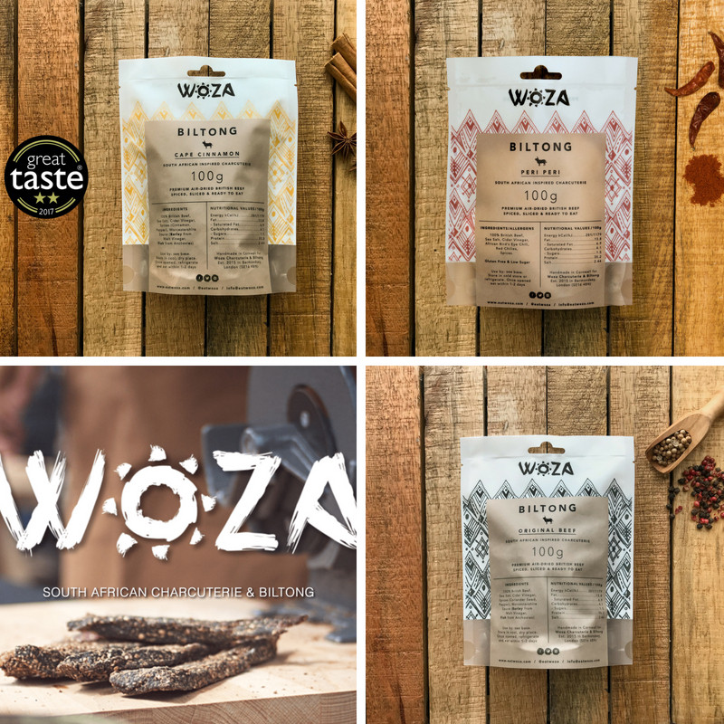 Limited Edition 3 Flavour Woza Biltong Selection Pack